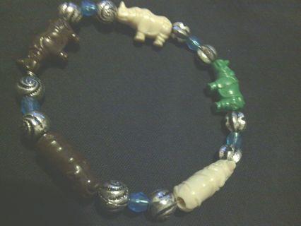 Rhino Bracelet One Of A Kind
