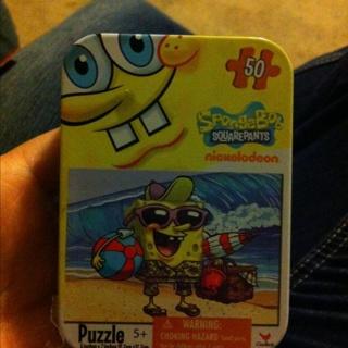 Spongebob Square Pants Puzzle