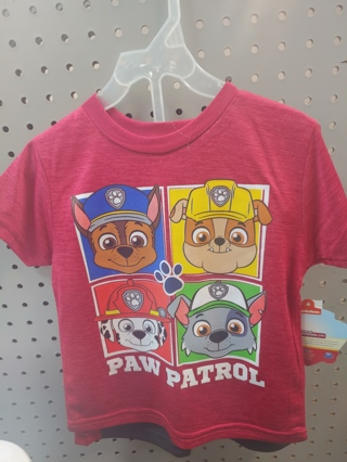 "NWT! NICKELODEON Baby Boys 2pc set ""PAW PATROL"" Size: 2T 100% POLYESTER"