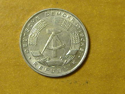 1968A east Germany Pfennig coin world foreign