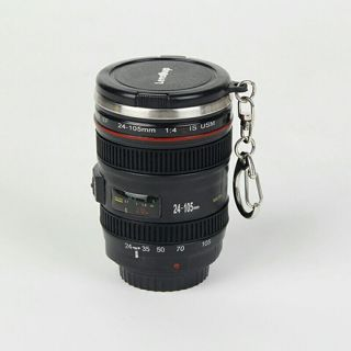 60ml 2.1OZ Mini Stainless Steel Mug Cup Vodka Camera Lens Spirits Portable Thermos Cup