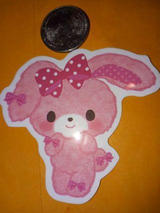 Kawaii Cute big vinyl sticker no refunds regular mail only Very nice no lower
