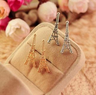 1Pair Fashion Women Lady Elegant Paris Eiffel Tower Ear Stud Earrings Jewelry
