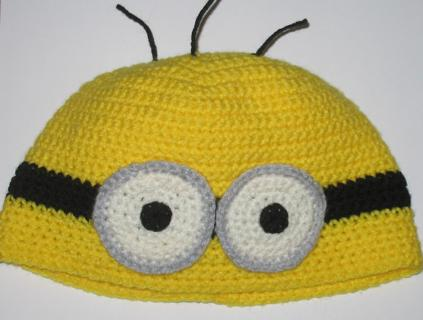 Free Crochet Pattern Minion Hat Printable Other Craft Items