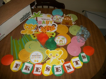 Jungle Baby Shower Decorations