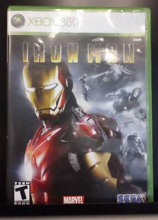 Iron Man (Xbox 360, 2008, Very Good Condition)