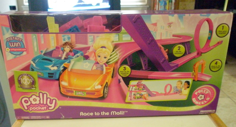 polly pocket race to the mall instructions