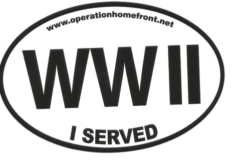 I Served Stickers