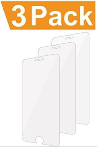 NEW Screen Protectors for APPLE iPhone 6 PLUS Cell Phone Screen Protector Lot (Qty.3) FREE SHIPPING