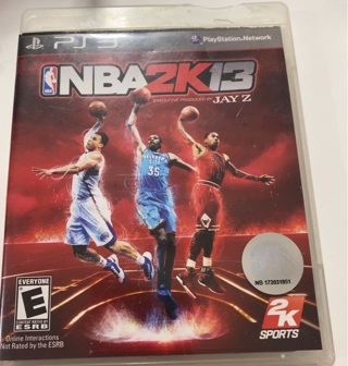 PS3 NBA2K13 Video Game