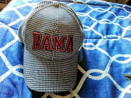 New Alabama Football Cap