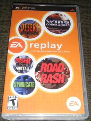*NEW* - EA REPLAY for Sony PSP