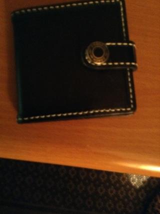 Coach purse photo holder