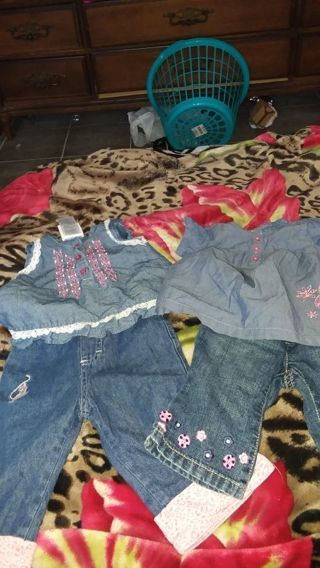 Baby girl 3-6months clothing