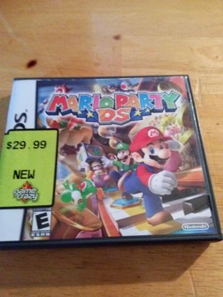 MARIO PARTY DS GAME -GIN-----GIN OFFERS WELCOME