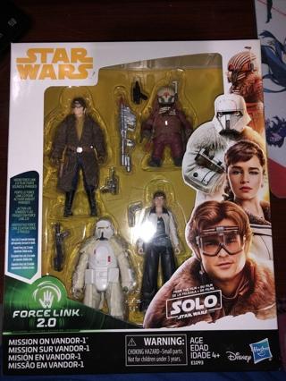 New Star Wars Figure 4 Pack