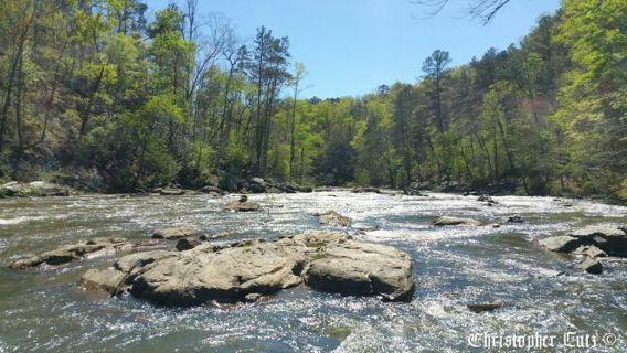 Breathtaking 8x10 River Rock Photo