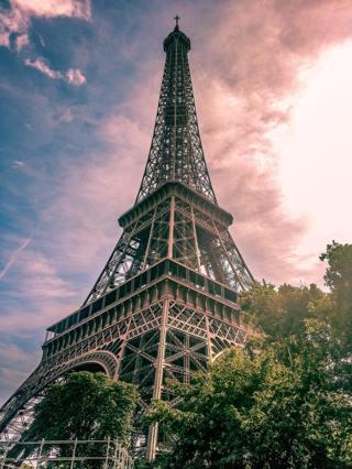 Paris View Art Print 5x7