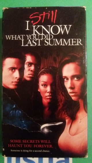 vhs i still know what youy did last summer  free shipping
