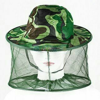 Bug Insect Bee Mosquito Resistance Net Mesh Head Face Protector Hat Cap