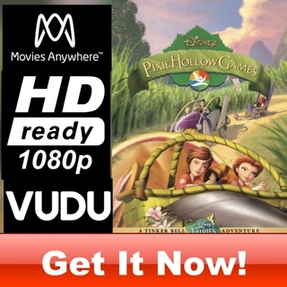 DISNEY FAIRIES: PIXIE HALLOW GAMES HD MOVIES ANYWHERE CODE ONLY