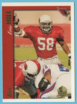 1997 Topps Minted in Canton - Eric Hill - Cardinals