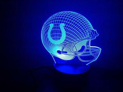 Indianapolis Colts 3D Multi Color Lamp