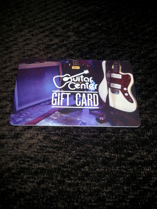 FREE Guitar Center Gift Card 18832