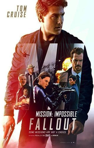 Digital HD Movie Code for Mission Impossible: Fallout