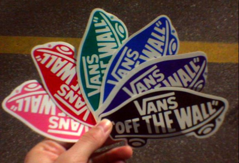 e9329bec355b99 Free  How to  Get free stickers from Vans