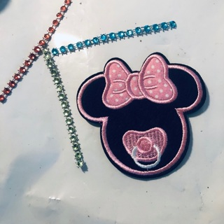 Minnie Mouse Embodied Iron Sew Patch + Bonus