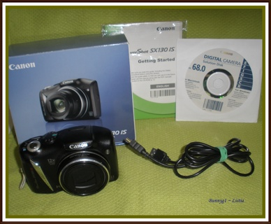 Canon PowerShot SX130 IS Digital Camera ~ please read description ~ Gently Loved :)
