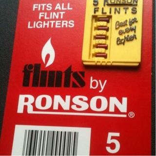 Ronson Flints