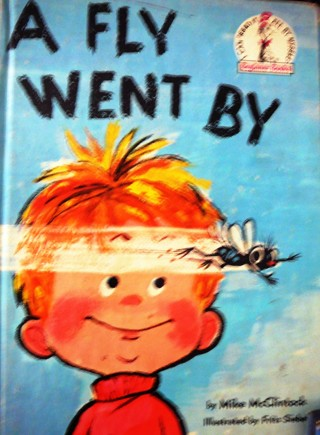 """1958 Collectible Dr. Seuss Book: """"A Fly Went By"""" Vintage"""