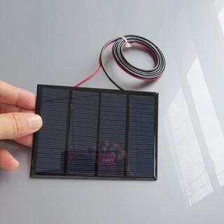 12V 1.5W Standard Epoxy Solar Panels Polycrystalline Silicon DIY Battery Power Charge Module
