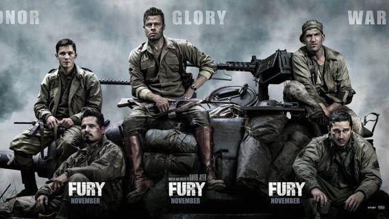 Fury (HDX) (Movies Anywhere) iTunes, Vudu, Digital copy