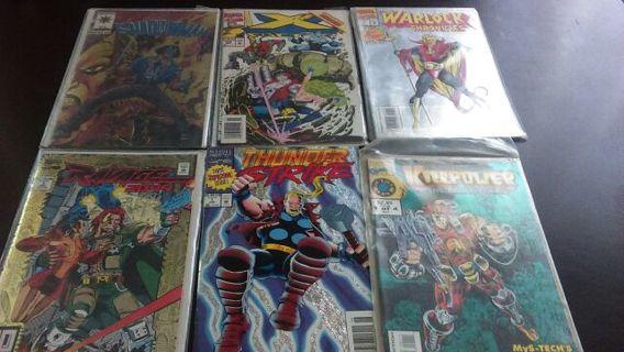 6 comics
