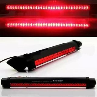 Universal Red 14 LED 3rd Car Brake Rear Tail Light High Mount Stop Lamp 12V RT