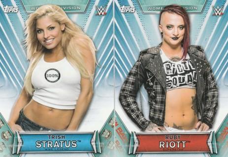 WWE Womens Division 2019 ~ Two Card Lot ! Trish Stratus, Ruby Riott