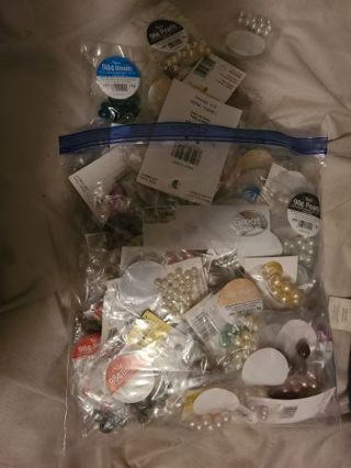 Lot of beads and charms