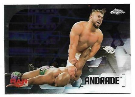 2020 TOPPS WWE CHROME #5 ANDRADE