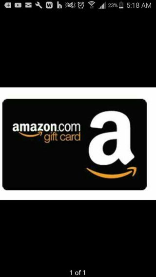 $10 AMAZON GIFT CARD GIN GET IT NOW
