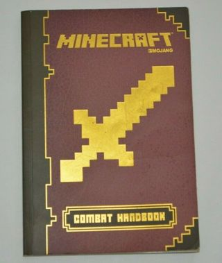 Minecraft Combat Handbook Softcover MoJang PreOwned