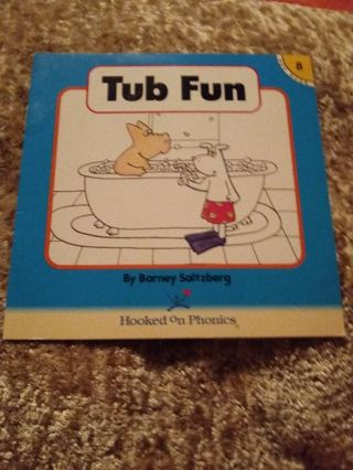 Used Children's Hooked on Phonics Book Tub Fun