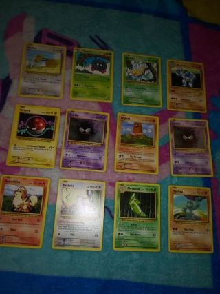 12 excellent pokemon cards