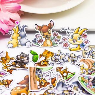 40pcs Creative Cute Self-made  Cute deer Bambi stickers/Scrapbooking Stickers /Decorative Sticker