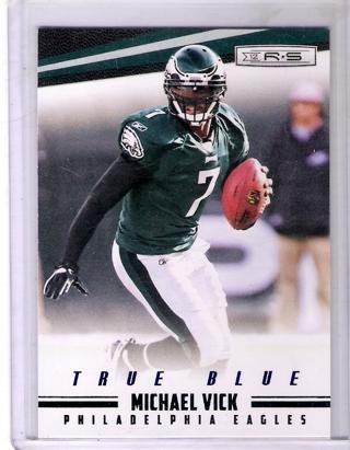Michael Vick 2012 Rookies & Stars True Blue #108