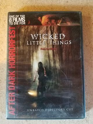 Wicked Little Things (dvd)