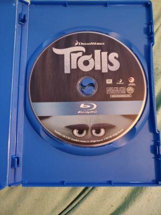TROLLS BLU-RAY DISC :)(: