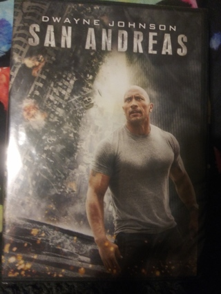 San Andreas dvd factory sealed